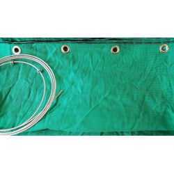 Сетка зелёная стрелоулавитель JVD Netting Green Extra Strong with Ring 5 м.